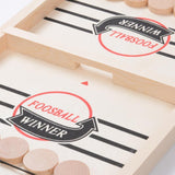 Crazypatata™ Funny Family Wooden Hockey Game