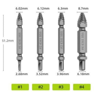 Screw Extractor(4 Pcs/5pcs/6pcs)