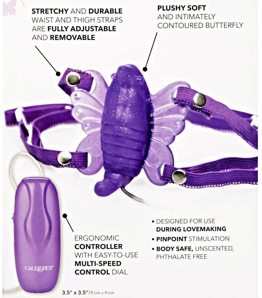 Venus Butterfly II Massager-Purple - Fantasia Video & More
