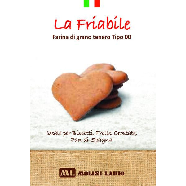 THE CRUMBLY / LA FRIABILE- 1 Kg Flour Bag - GustoGourmet