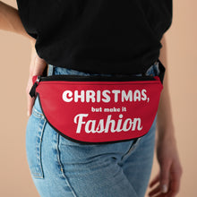 Load image into Gallery viewer, CHRISTMAS, but make it FASHION Fanny Pack