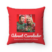 "Load image into Gallery viewer, ""Advent Carolndar"" Emotional Support Pillow"