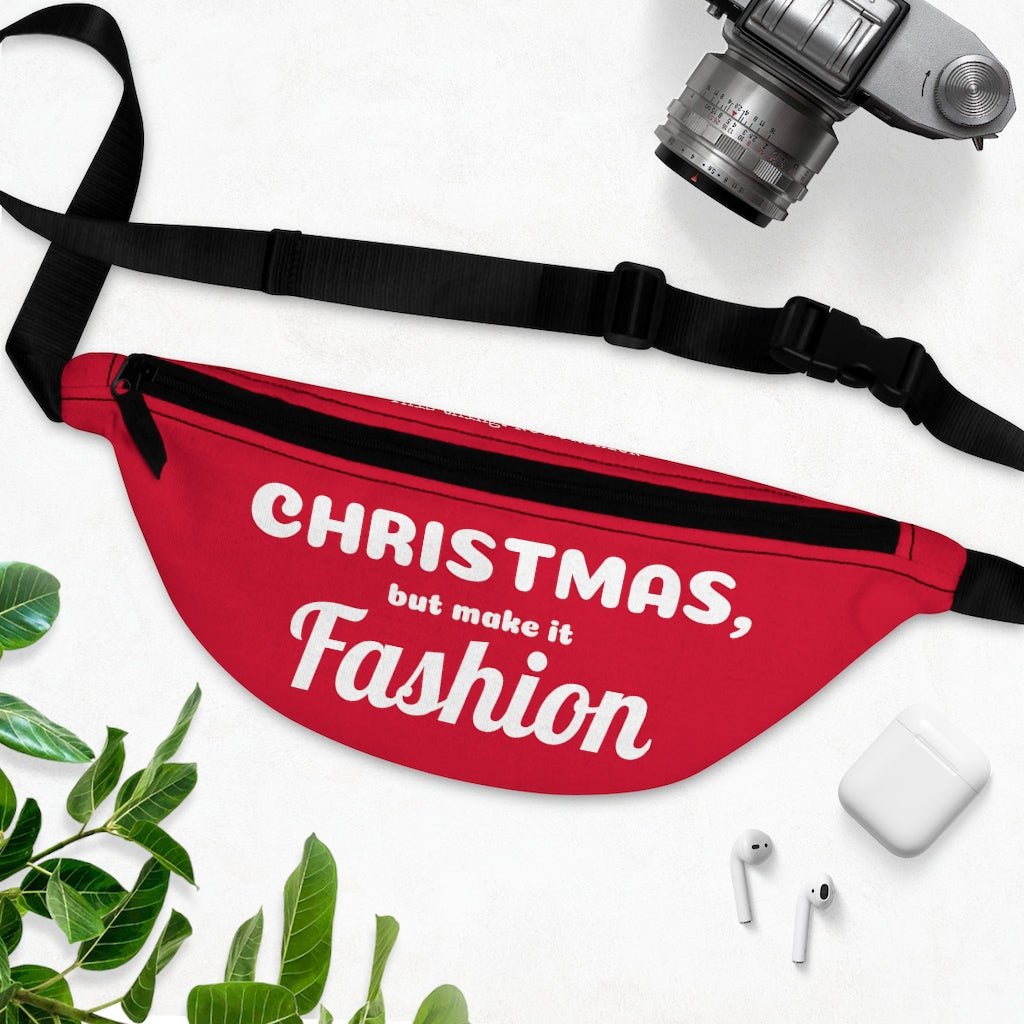 CHRISTMAS, but make it FASHION Fanny Pack