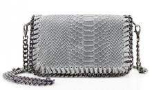 Load image into Gallery viewer, Stella Snakeskin Bag