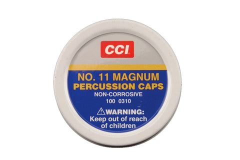 CCI™ #11 Magnum Percussion Caps (100 to 5000 Count)