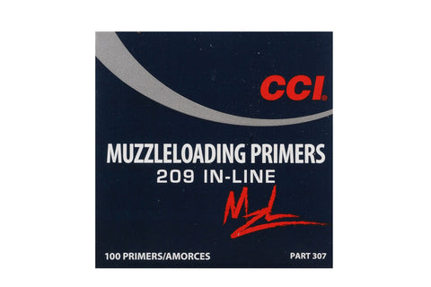 CCI™ 209 Muzzleloading Primers - #209 Inline Shotshell Primers (100 to 5000 Count)
