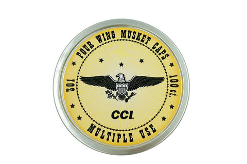 CCI™ Musket Percussion Caps (100 or 5000 Count)