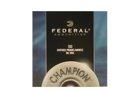 Federal™ 209A Primers - #209 Shotshell Primers (100 to 5000)