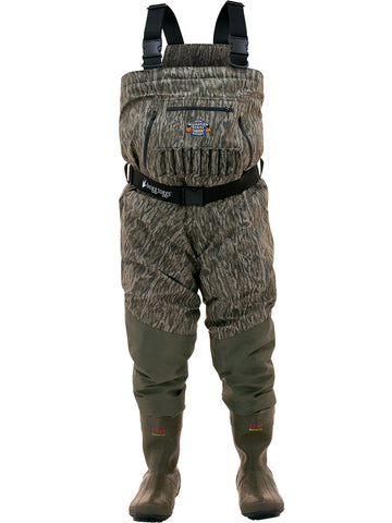 Frogg Toggs™ Grand Refuge Waders - Mossy Oak™ Bottomlands Camo Bootfoot Waders - 2711950