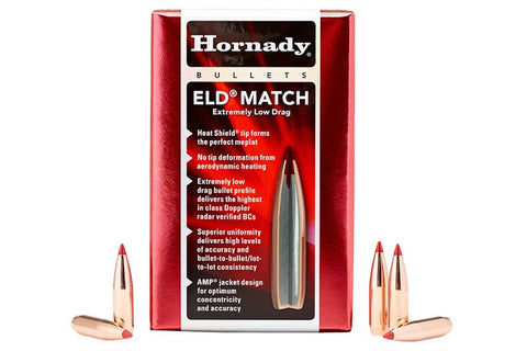 Hornady® ELD-Match™ Bullets - Extra Low Drag