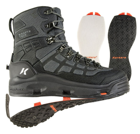 Korkers® Wraptr™ Wading Boot - Felt & Kling-On