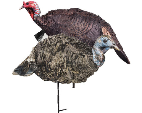 Montana Decoy™ Purr-Fect Pair 3D Turkey Decoys