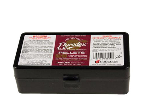 Hodgdon® Pyrodex™ 50-50 Pellets Black Powder Substitute .50 Cal 50 Grains (24 & 100 Pack)