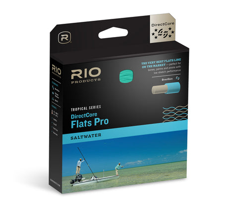 RIO™ DirectCore Flats Pro Stealth Tip Fly Line - Tropical Saltwater Line
