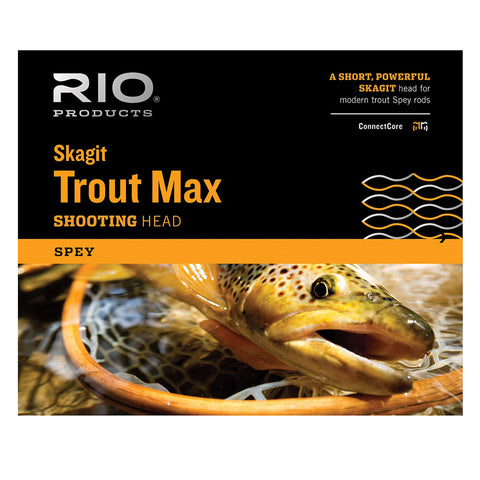 RIO™ Skagit Trout Max SHD - Spey Shooting Head