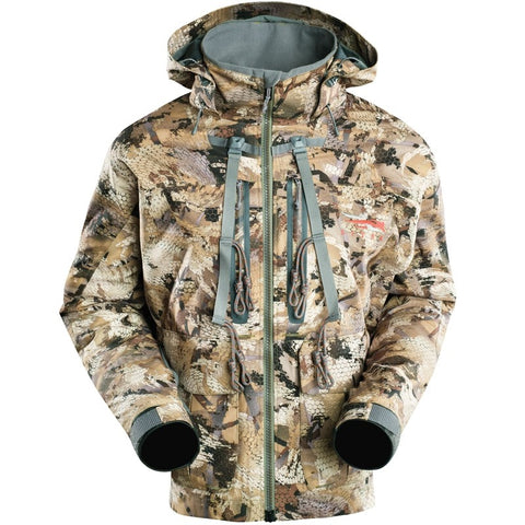 Sitka® Delta™ Wading Jacket - Optifade Waterfowl Camo