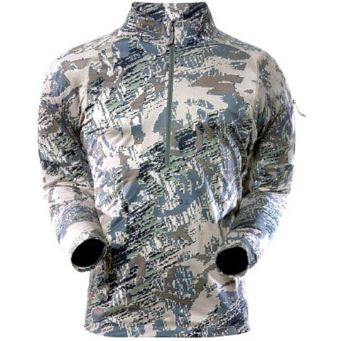Sitka® Merino Core 1 LS Long Sleeve Zip T - Optifade Open Country Camo