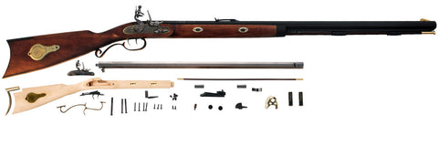 Traditions® Mountain Rifle™ Kit .50 Cal Flintlock - KR59208