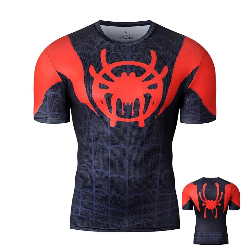 Spiderman Miles Morales Compression T-shirt