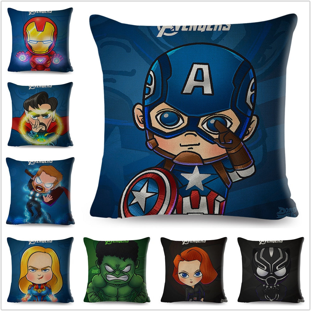 Super Hero Pillow Case 45x45cm