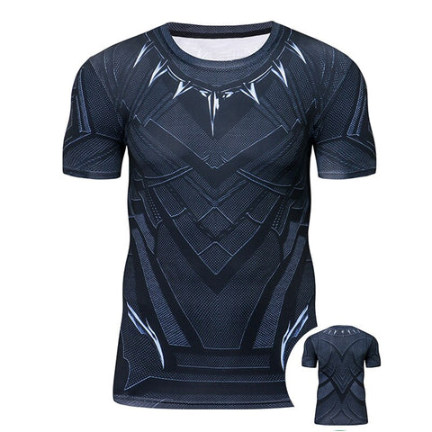 Black Panther Compression T-shirt