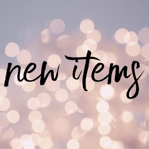 New Fall/ Winter items