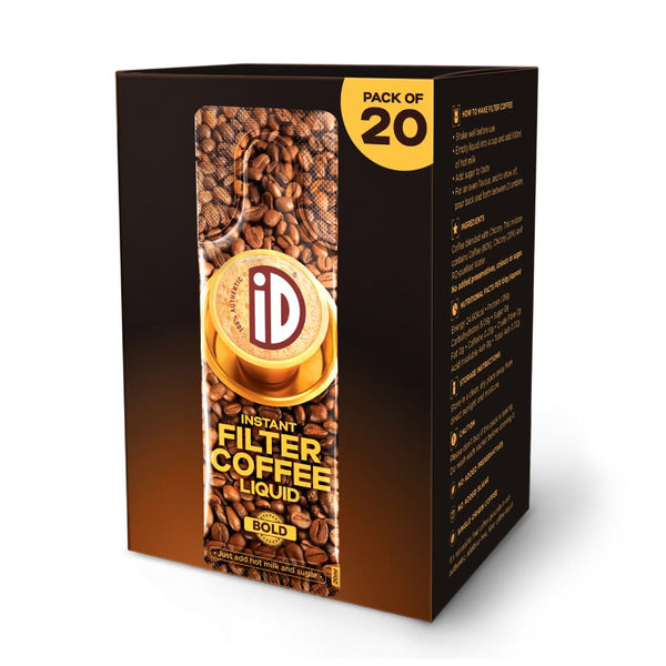 iD Instant Filter Coffee Liquid | Bold | 20ml