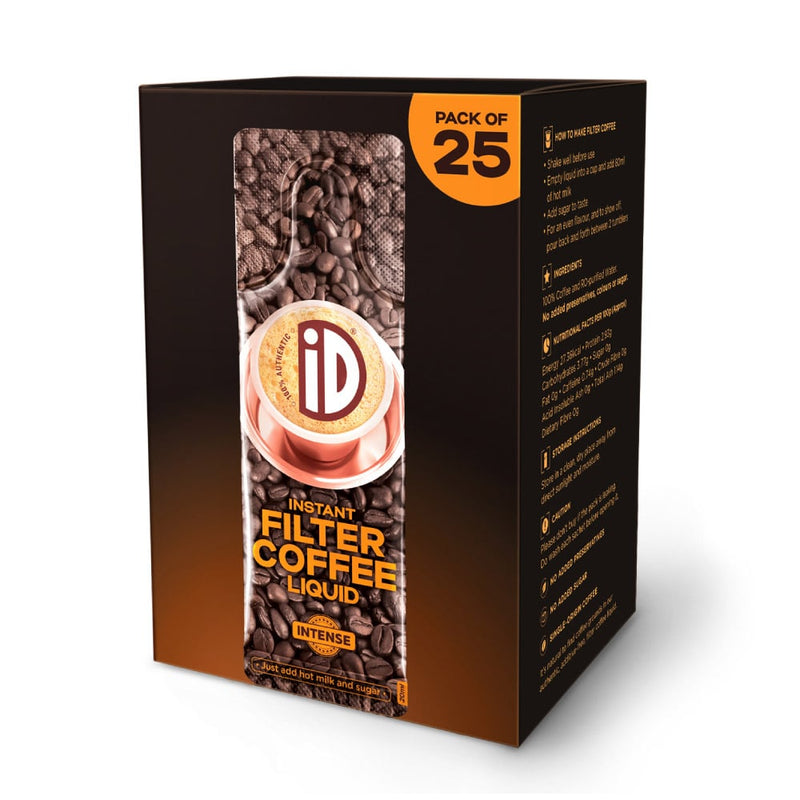 iD Instant Filter Coffee Liquid | Intense | 20ml
