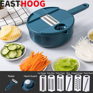 12 In 1 Multifunctional Round Vegetable Cutter - Zerahil