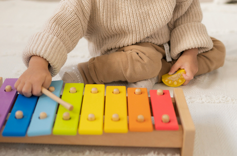 Education xylophone perfect for toddlers brain development