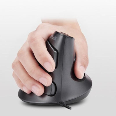 Vertical Mouse with Removable Wrist Rest