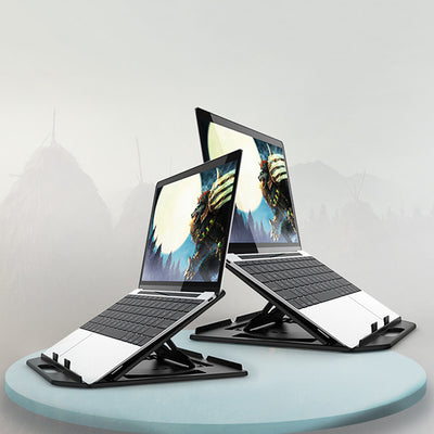 2 in 1 Adjustable Computer and Mobile Phone Stand Riser
