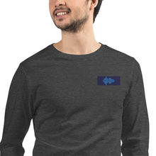 Load image into Gallery viewer, Unisex Long Sleeve Tee Waves