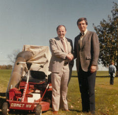 More than 50 years in garden machinery