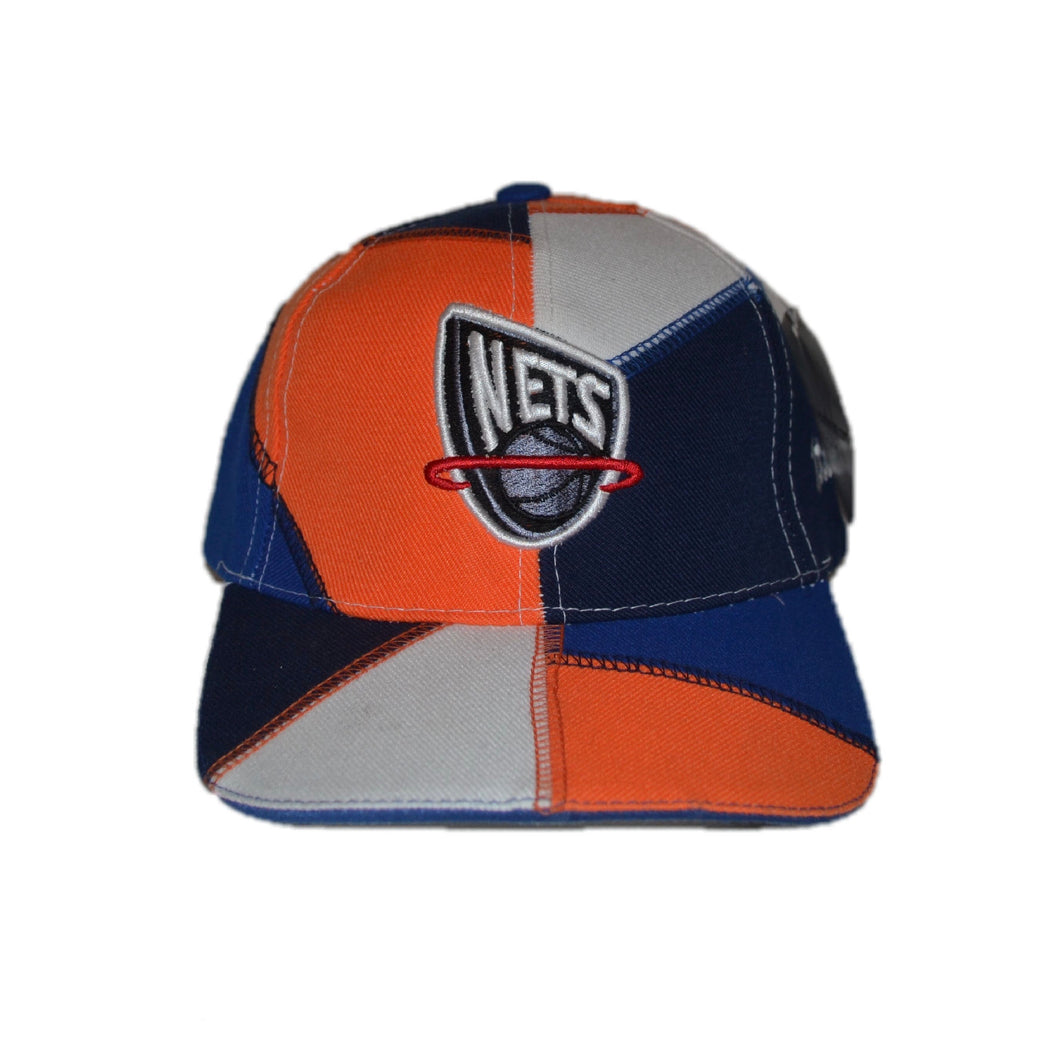 New Jersey Nets Patch Work Velcro Hat