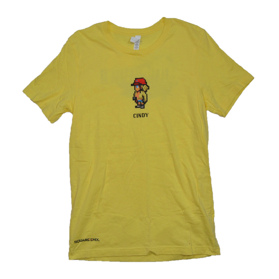 Final Fantasy XV Cindy Square Enix Promo T-shirt Small