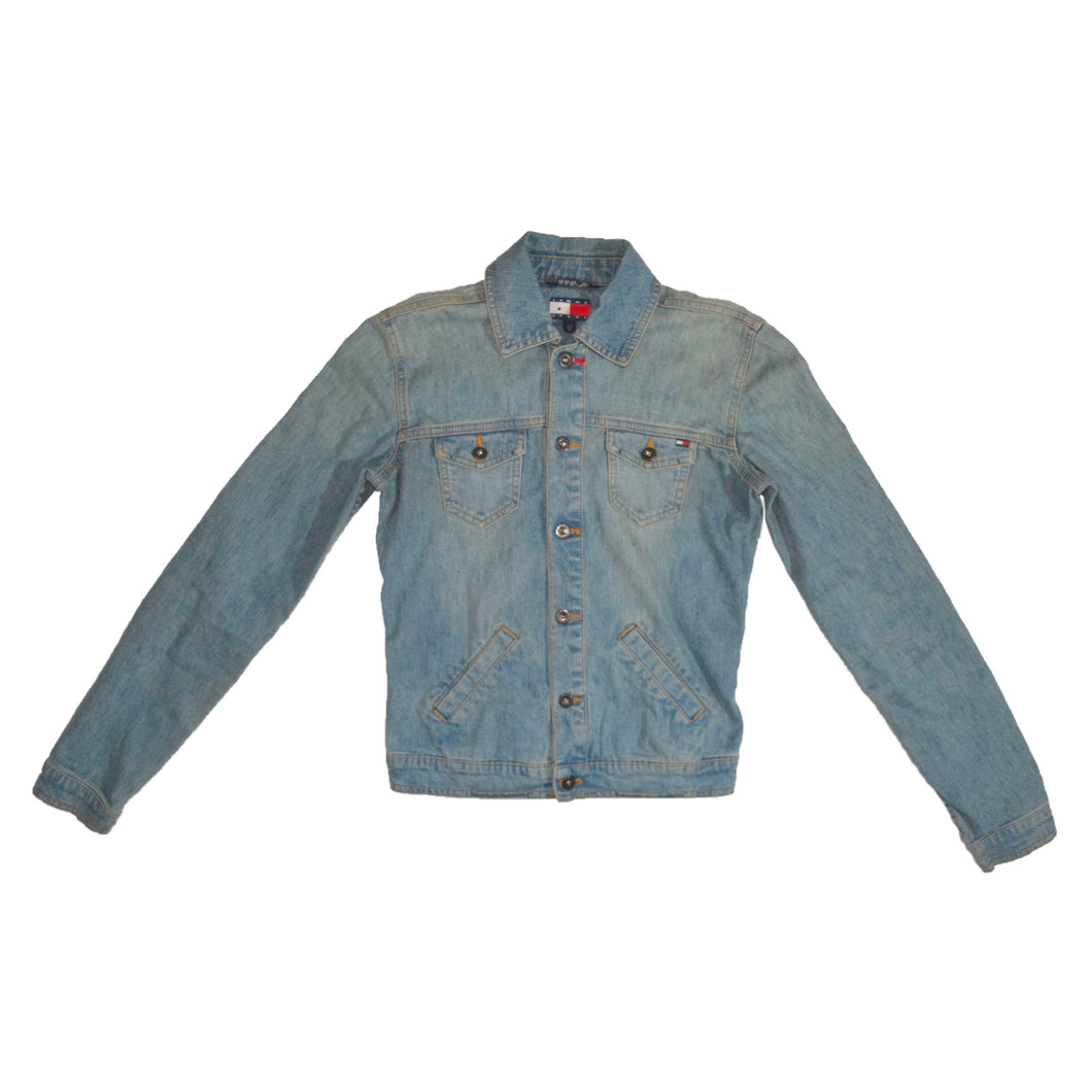 Women's Vintage Tommy Hilfiger Denim Jacket XS