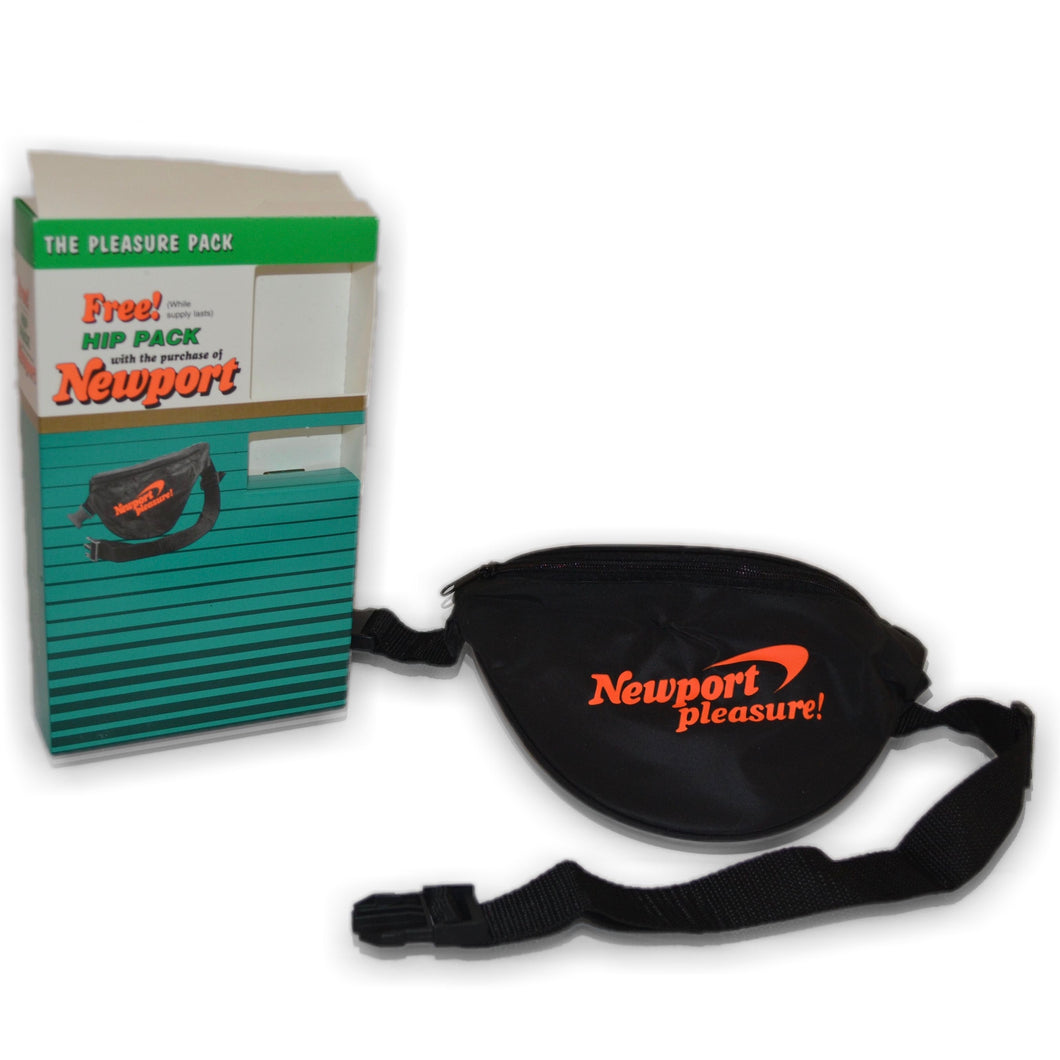 Vintage Newport Cigarettes Pleasure Fanny Pack