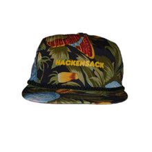 Load image into Gallery viewer, Vintage Floral Print Hackensack, New Jersey Souvenir Trucker Hat