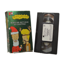 Load image into Gallery viewer, Beavis and Butt-Head do Christmas VHS
