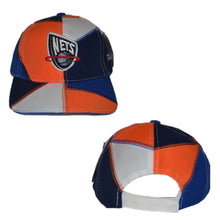 Load image into Gallery viewer, New Jersey Nets Patch Work Velcro Hat