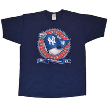 Load image into Gallery viewer, Men's Vintage 1999 World Series New York Yankees World Champions T-shirt