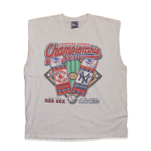 Load image into Gallery viewer, Men's Vintage World Series 1999 Red Sox vs. Yankees Sleeveless T-shirt XL
