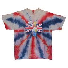 Load image into Gallery viewer, Men's The Simpsons UK Tie Dye T-shirt Large