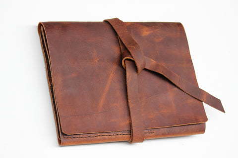 Leather Notepad Portfolio-Business Legal pad Portfolio Case