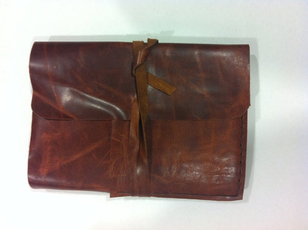 Leather Wrap Sketchbook Portfolio