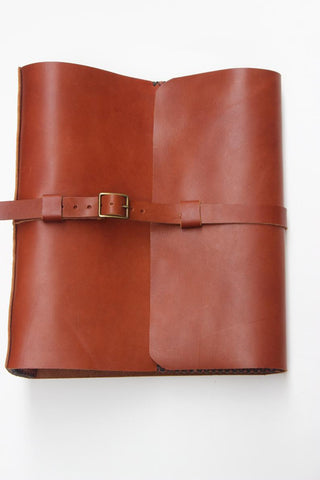3-Ring Leather Binder Portfolio