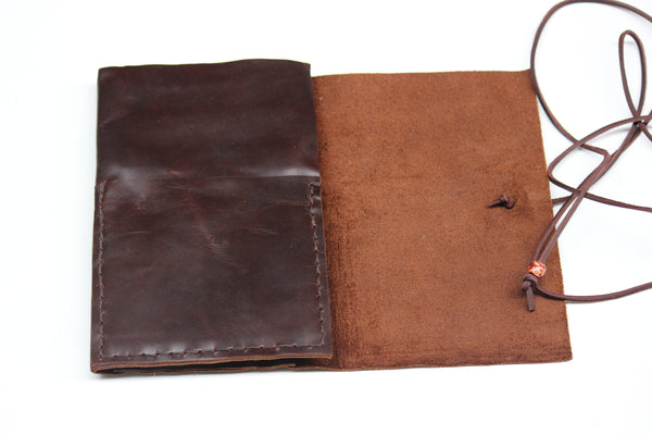 Leather Sketchbook Portfolio-Brown Notebook Journal