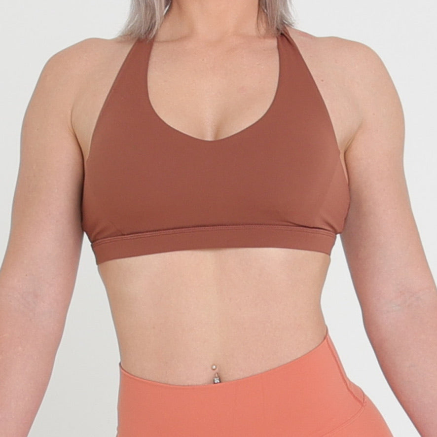 HARPER CROP - BROWN