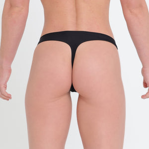 SEAMLESS UNDERWEAR - Black